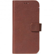 Decoded Leather Wallet pouzdro Apple iPhone 12 Pro Max hnědé