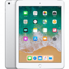 Apple iPad 128GB Wi-Fi + Cellular stříbrný (2018)